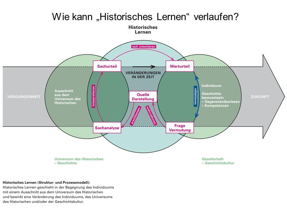 Peter Gautschi18 Wie kann Historisches Lernen verlaufen?