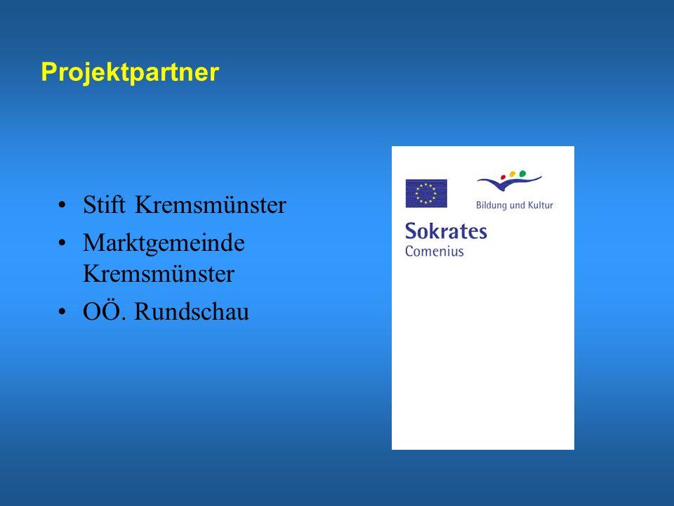 Projektpartner Stift Kremsmünster Marktgemeinde Kremsmünster OÖ. Rundschau