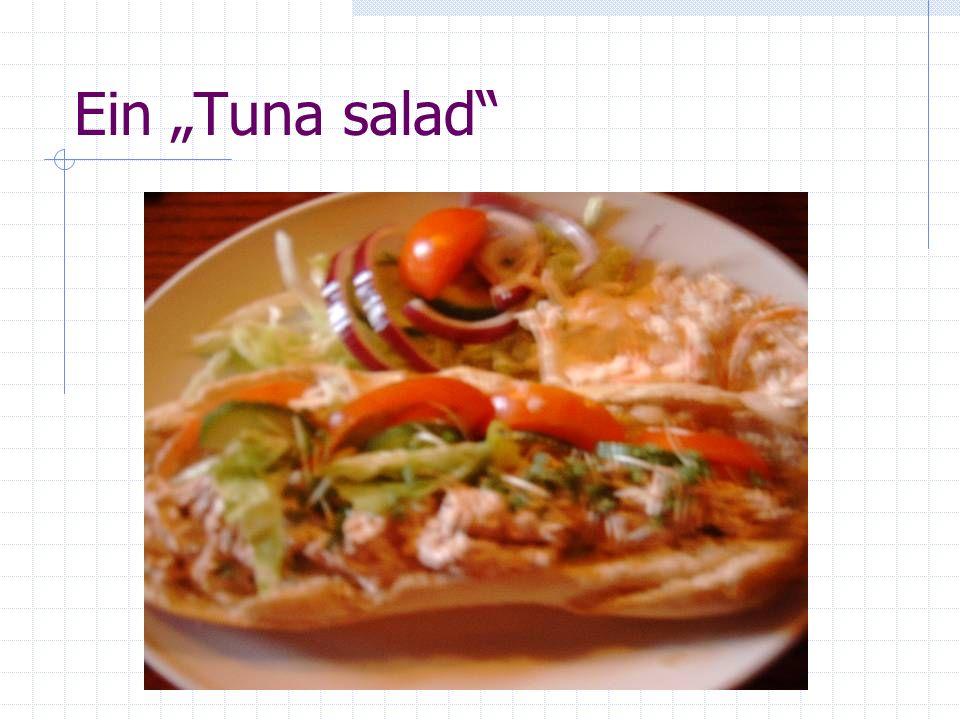 Ein Tuna salad