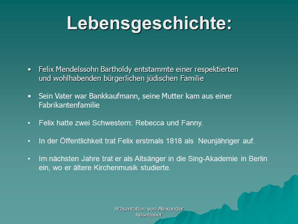Geb: 3. Februar 1809 in Hamburg Geb: 3. Februar 1809 in Hamburg 3. Februar1809Hamburg 3. Februar1809Hamburg 4. November 1847 in Leipzig 4. November 18