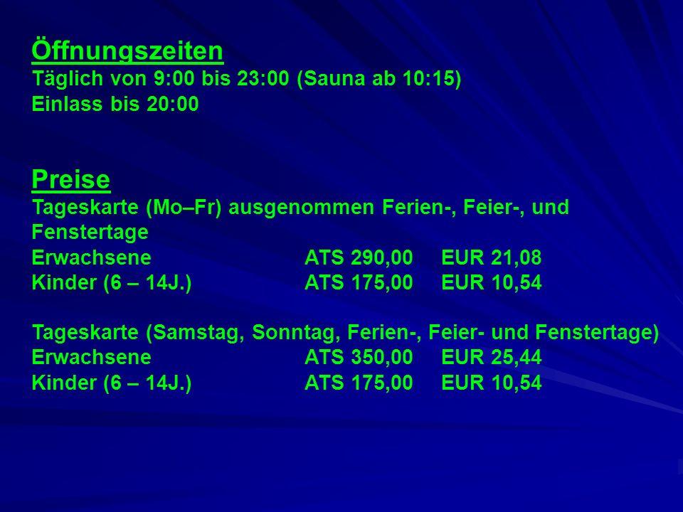 Parktherme Blumau Angebot - Thermal- und Süßwasserbäder innen und außen (1.600m2) - Finnische, römische und türkische Saunalandschaft - Aromaraum mit