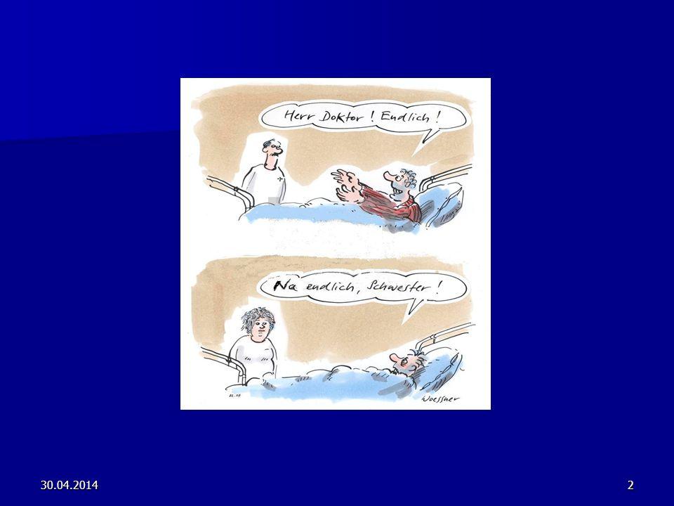 30.04.201413 Notwendige Handlungskompetenzen: Fachkompetenz Fachkompetenz z.B.