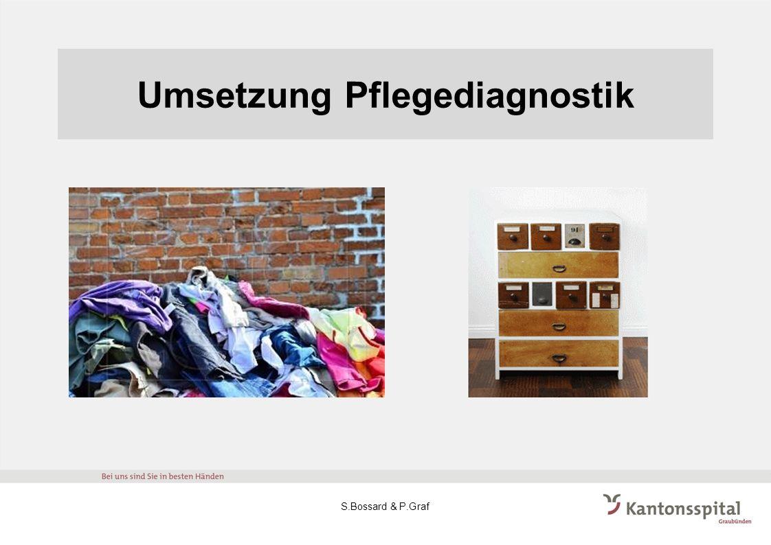 Umsetzung Pflegediagnostik S.Bossard & P.Graf