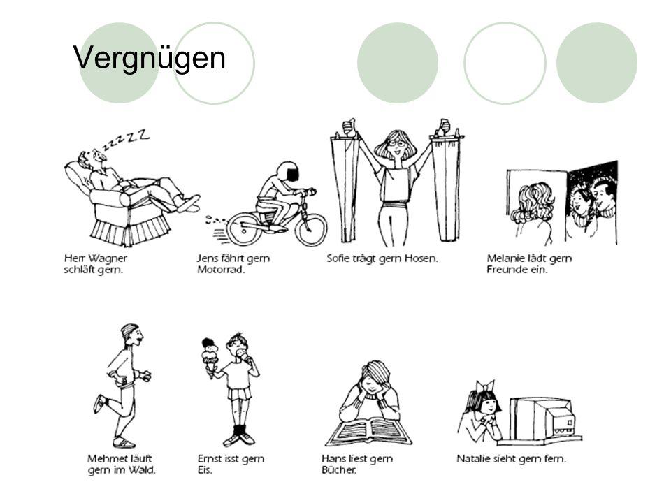 Stem-vowel changing verbs… a > ä fahrendu fährster/sie/es fährt schlafenduer/sie/es tragenduer/sie/es waschenduer/sie/es einladenduer/sie/es schläfst wäscht schläft lädst ein trägst wäschst trägt lädt ein