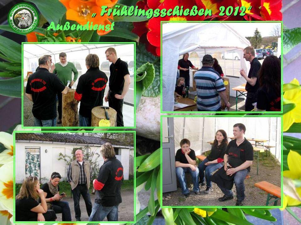 Frühlingsschießen 2012 Außendienst