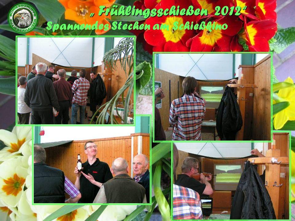 Frühlingsschießen 2012 Spannendes Stechen am Schießkino