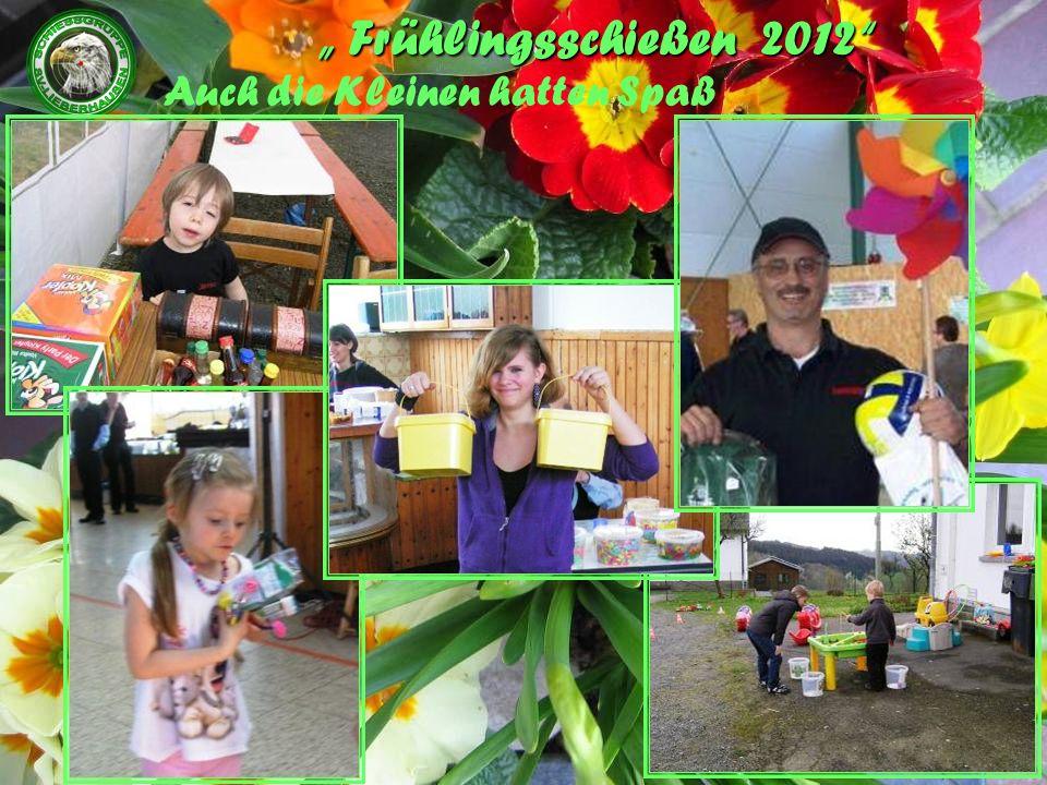 Frühlingsschießen 2012 Auch die Kleinen hatten Spaß