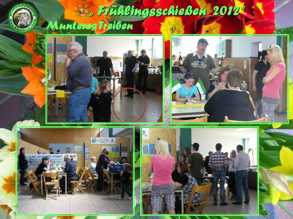 Frühlingsschießen 2012 Wir hoffen es hat Euch gefallen und Ihr besucht uns im nächsten Jahr wieder.