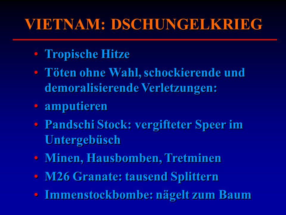 VIETNAM: IMPROVISIEREN Bewegliche Lagerspital: 28 Min.