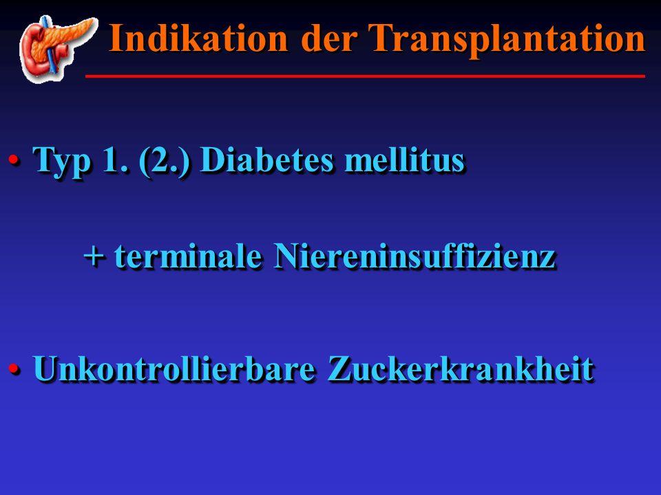 Typ 1. (2.) Diabetes mellitusTyp 1. (2.) Diabetes mellitus + terminale Niereninsuffizienz Typ 1. (2.) Diabetes mellitusTyp 1. (2.) Diabetes mellitus +