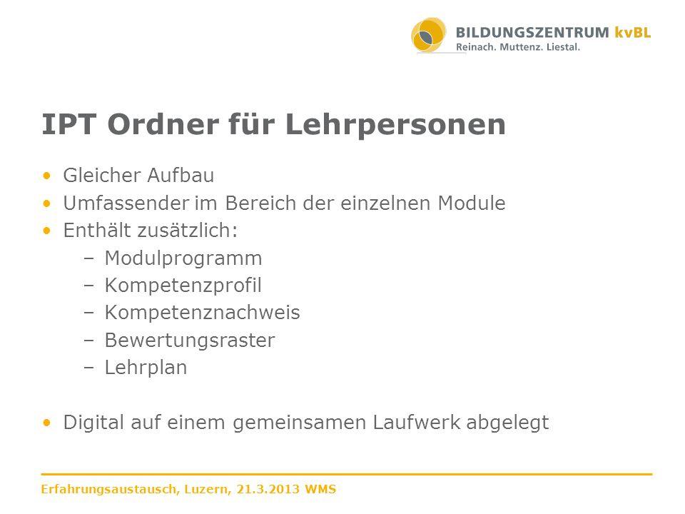 Modulinfo Wichtiges Dokument für die Lernenden 1.