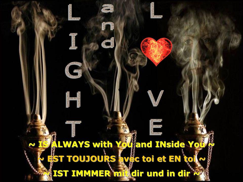 ~ even if life is nearing the completion ~ knows ~ ~ You are ALWAYS eternal protected in the ALLL-great-SPIRIT°°° ~ ~ même si la vie sapproche à sa achèvement ~ saYs ~ ~ tu es TOUJOURS à labri par lESPRIT de la source divine°°° ~ ~ auch wenn das Leben seiner VollEndung entgegen geht ~ weiss ~ ~ du bist IMMMER EWIG behütet im GÖTTlichen ALLL-Ur-GEIST°°° ~