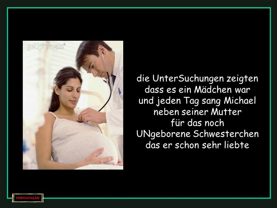 wie jede Mutter die weiß dass sie ein Kind erwartet tat auch Karen ALLLES um ihrem 3 jährigen Sohn Michael zu helfen sich auf die Ankunft des Babys VO
