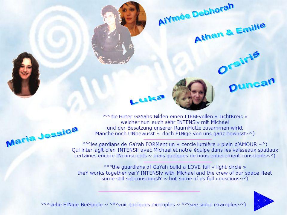 °°°die Hüter GaYahs Bilden einen LIEBEvollen « LichtKreis » welcher nun auch sehr INTENSiv mit Michael und der Besatzung unserer RaumFlotte zusammen w