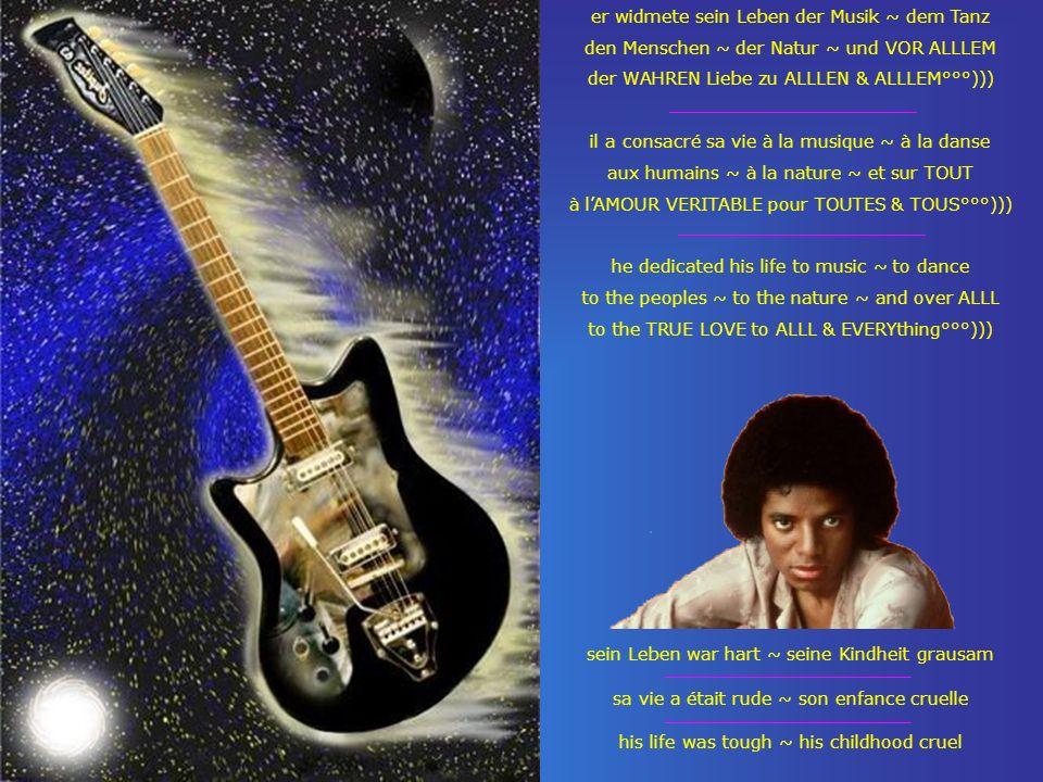 er widmete sein Leben der Musik ~ dem Tanz den Menschen ~ der Natur ~ und VOR ALLLEM der WAHREN Liebe zu ALLLEN & ALLLEM°°°))) il a consacré sa vie à