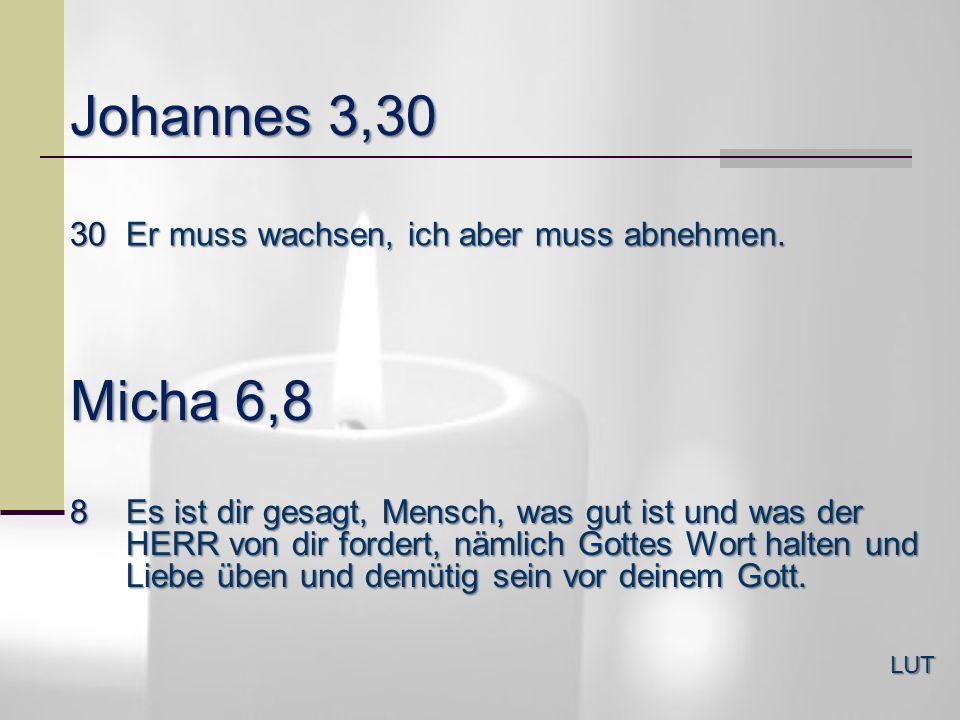 Matthäus 11,29 29Nehmt auf euch mein Joch und lernt von mir; denn ich bin sanftmütig und von Herzen demütig; so werdet ihr Ruhe finden für eure Seelen.