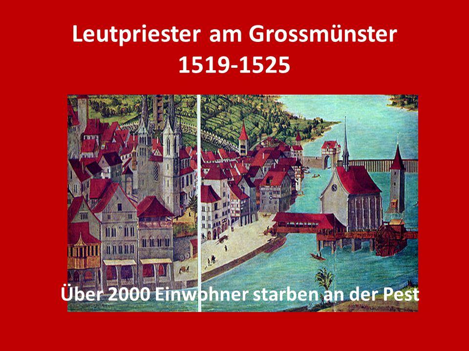 Was Zwingli bewegte 1.