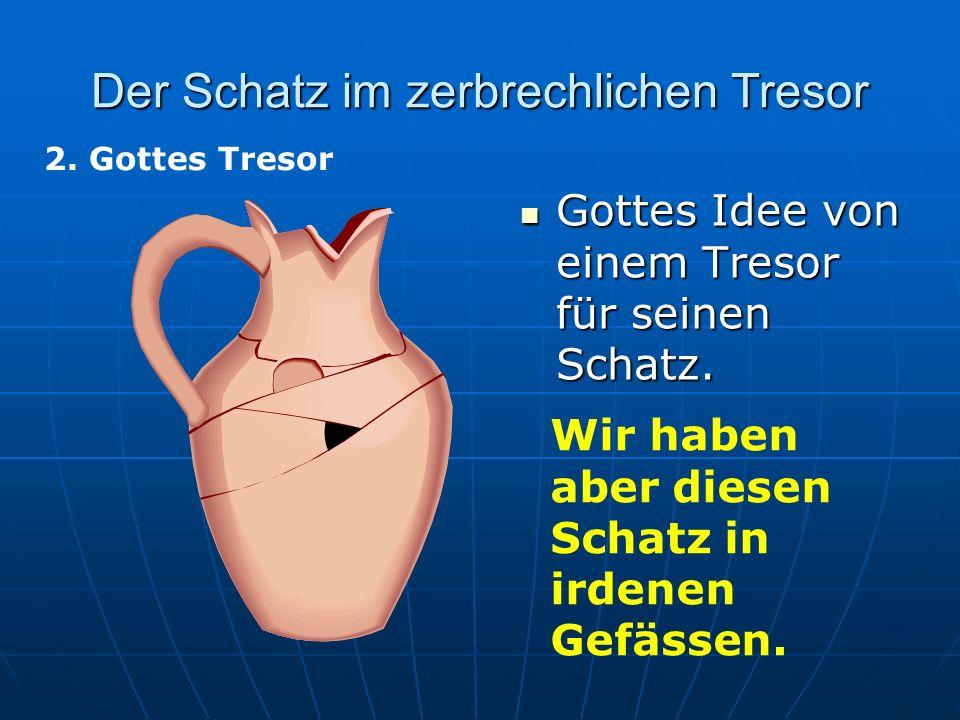 Der Schatz im zerbrechlichen Tresor 3.