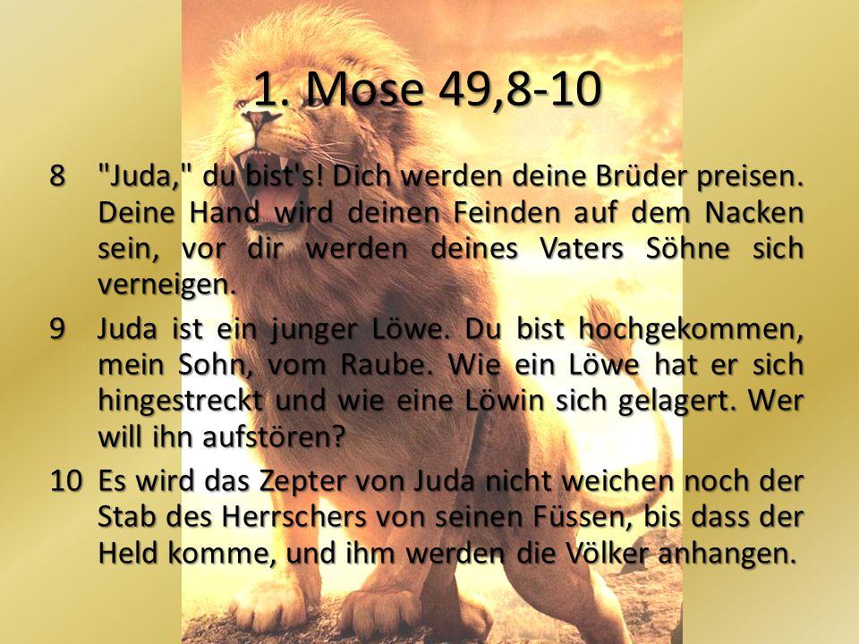 1. Mose 49,8-10 8
