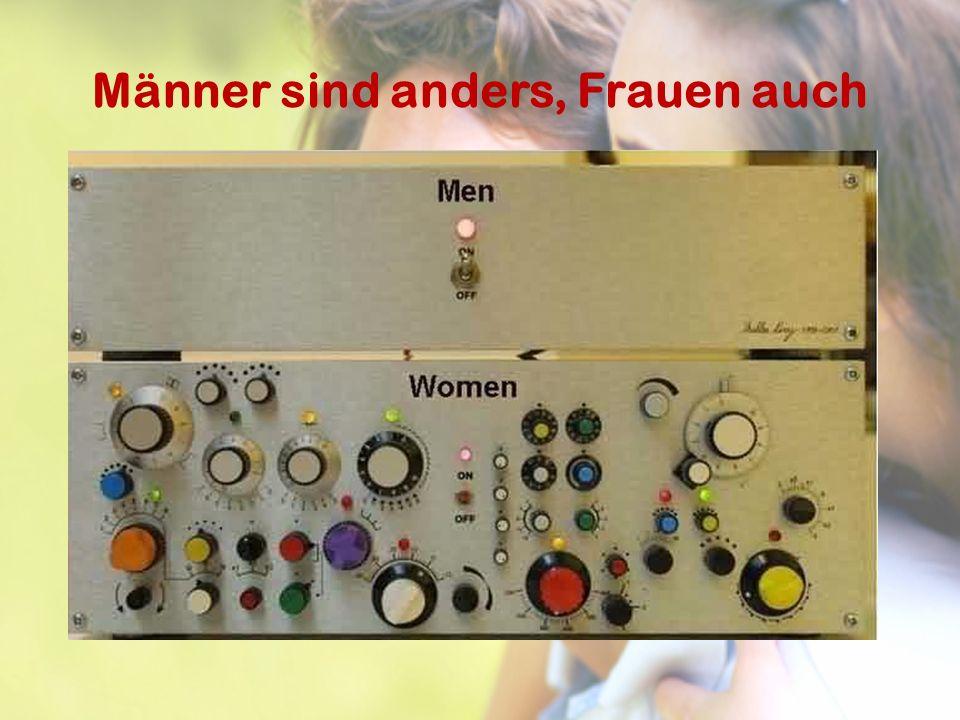 Männer sind anders, Frauen auch