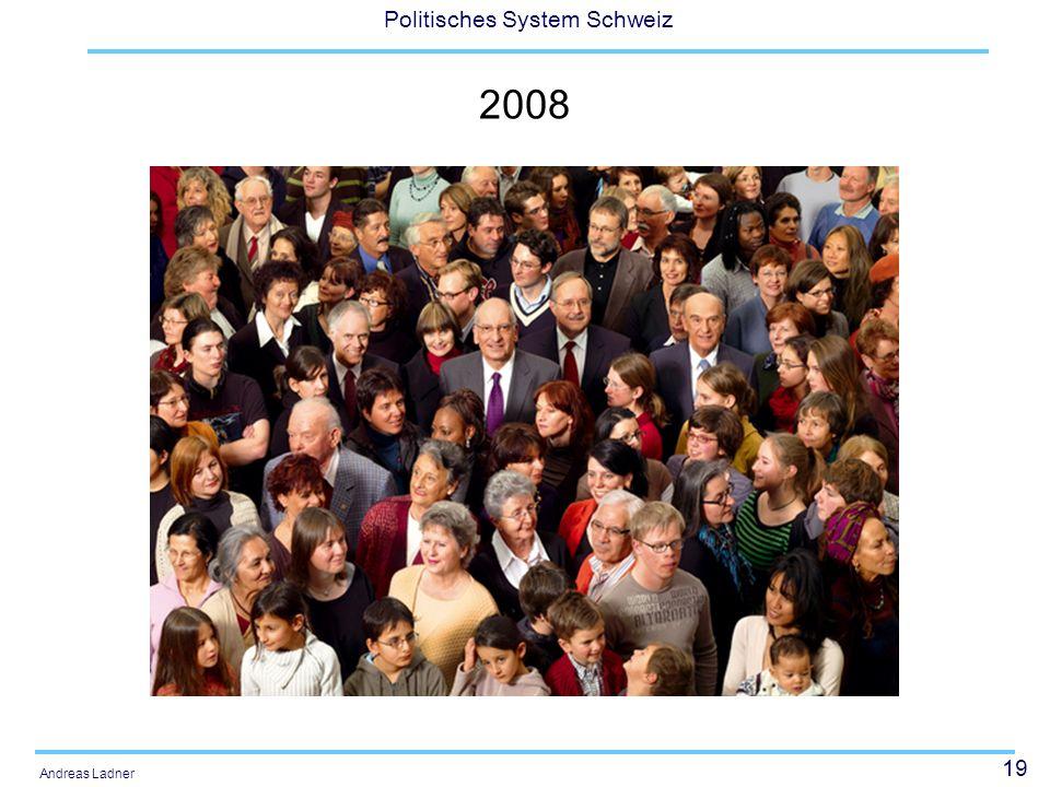 19 Politisches System Schweiz Andreas Ladner 2008