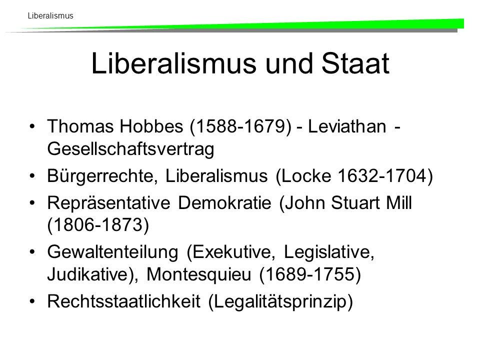 Liberalismus Leitmotiv Jeder ist seines eigenen Glückes Schmied! Es richtet sich primär gegen die alte Ständegesellschaft mit ihren über die Geburt ve