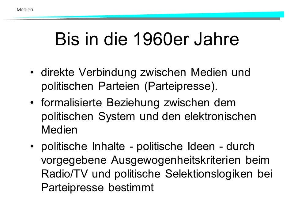 Medien Akteure: Politisches Raisonnement in der Informationsgesellschaft: –mediale Kommunikationszentren, als Akteure, Gate Keeper, Agenda Setter und