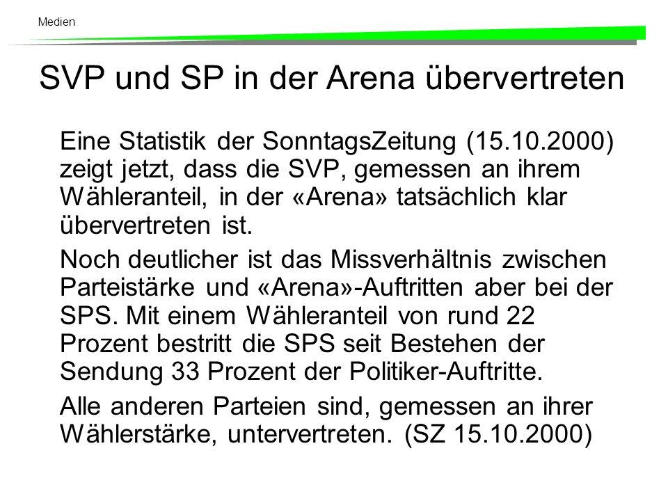 Die Tage der Arena sind gezählt. Gegenüber dem Vorjahr hat die «Arena» massiv Zuschauer verloren.