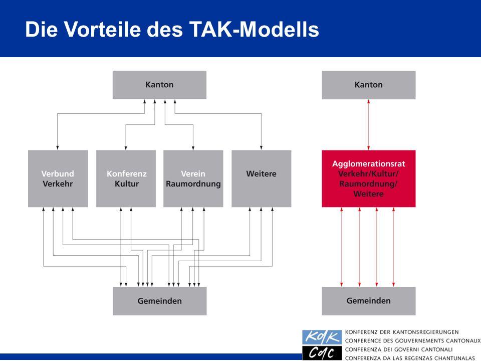 14 Die Vorteile des TAK-Modells