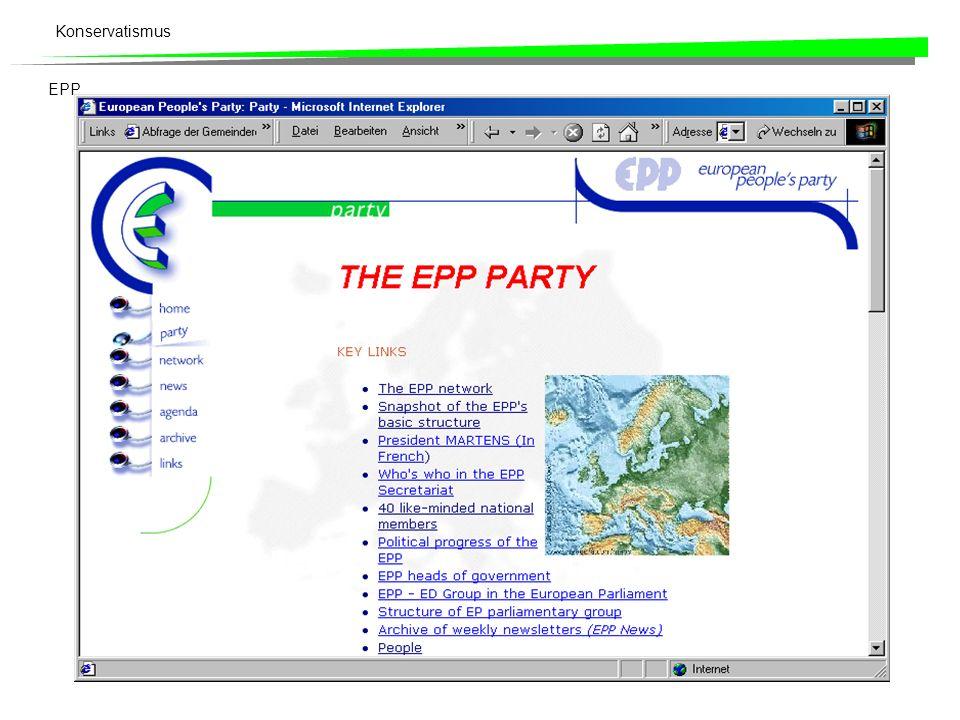 Konservatismus EPP