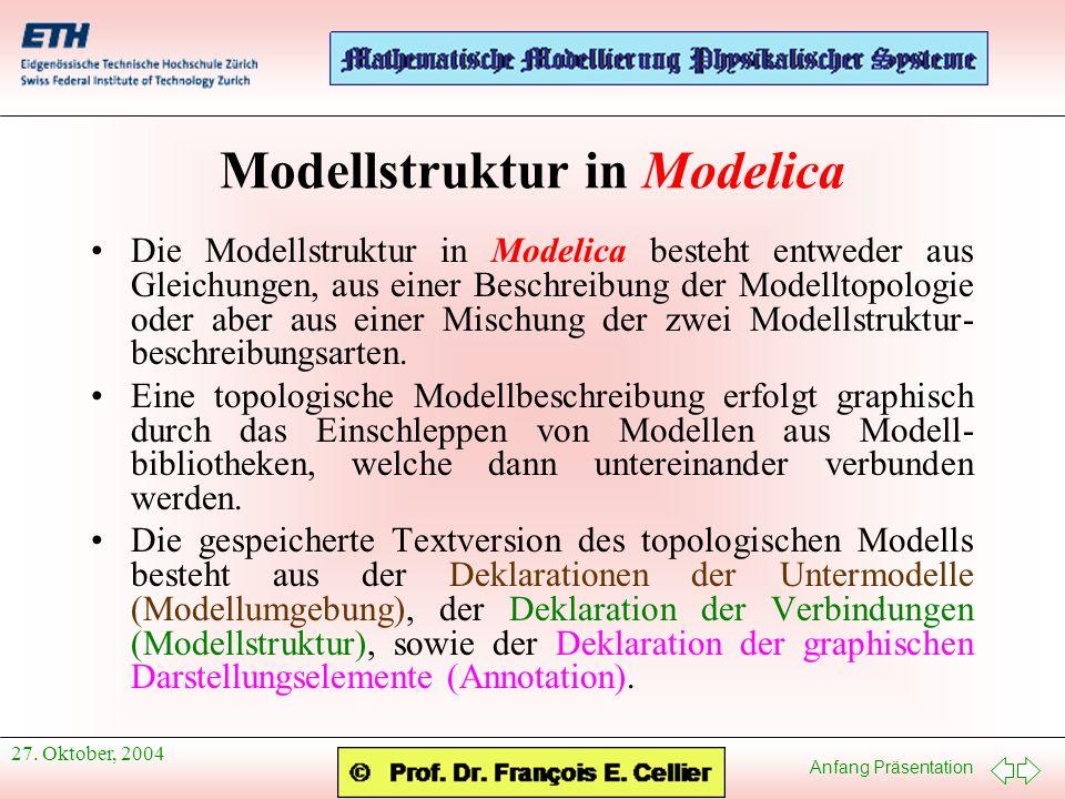 Anfang Präsentation 27.