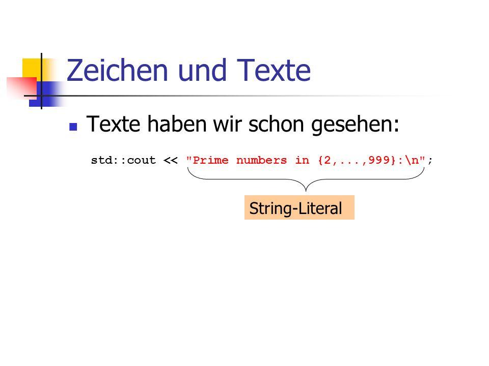 Anwendung: String matching Aufruf des Programms z.B.