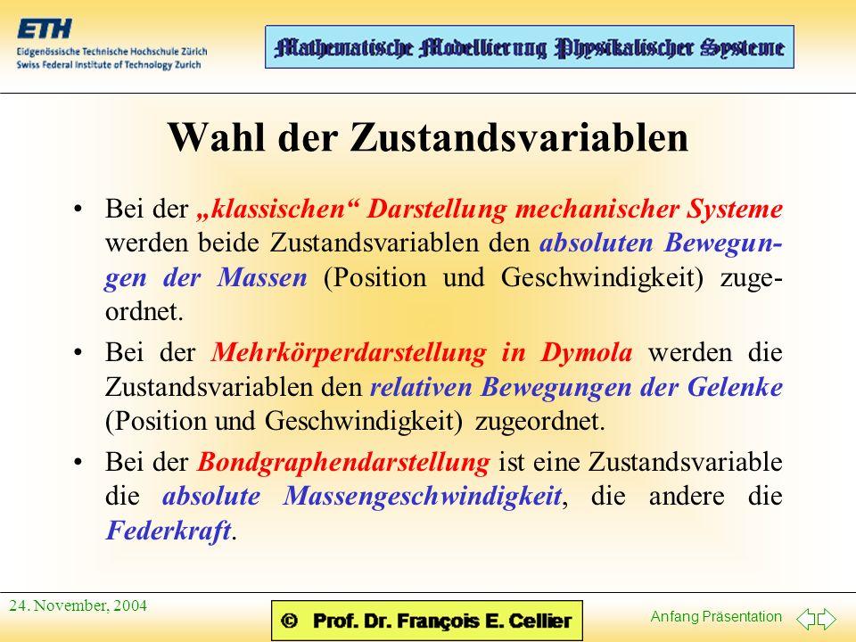 Anfang Präsentation 24.