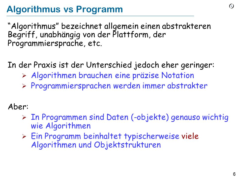 76 Goto considered harmful Dijkstra, 1968 Willkürliche Goto-Instruktionen führen zu unübersichtlichen, schwer zu wartenden Programmen (spaghetti code) Böhm-Jacopini-Theorem: Jedes Programm, Das mit goto-Instruktionen und Konditionalen geschrieben werden kann, kann auch ohne gotos geschrieben werden, in dem man Sequenzen und Schleifen benutzt.