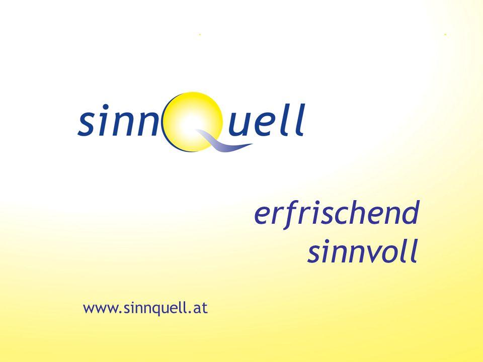 www.sinnquell.at erfrischend sinnvoll
