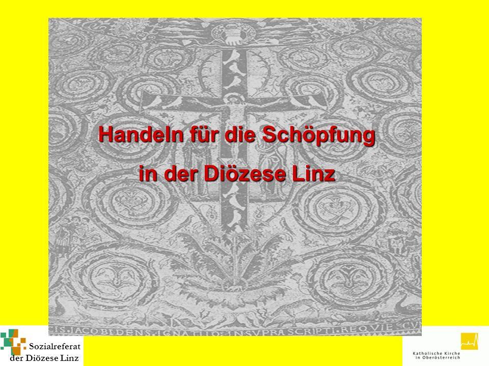 Sozialreferat der Diözese Linz Handeln für die Schöpfung in der Diözese Linz Handeln für die Schöpfung in der Diözese Linz