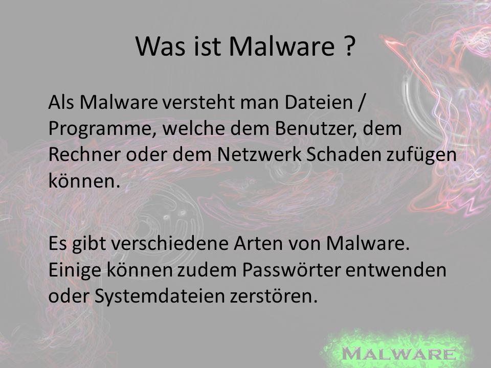 Spyware - Symptome Der Rechner funktioniert nur noch langsam Browserstartseite wurde selbstständig geändert Selbstständiges löschen Der Computer stellt Verbindungen zum Internet her (selbstständig) Browser öffnet Werbefenster, welche nicht im Zusammenhang mit dem Gesuchten stehen.