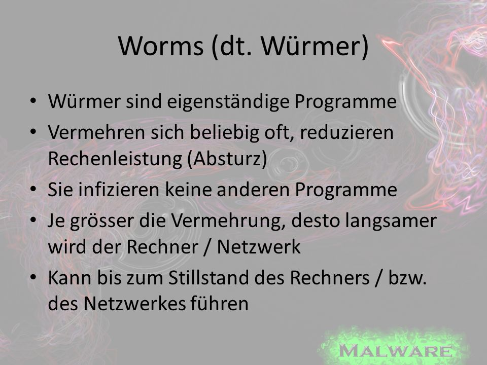 Worms (dt.