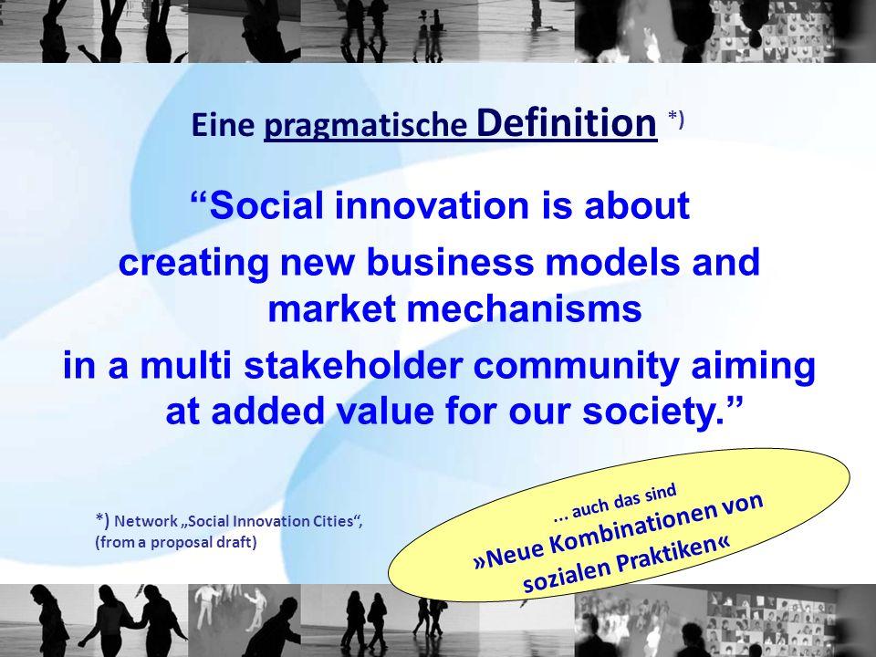Eine pragmatische Definition *)...