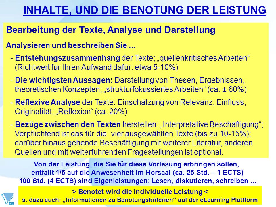 Bearbeitung der Texte, Analyse und Darstellung Analysieren und beschreiben Sie... - Entstehungszusammenhang der Texte; quellenkritisches Arbeiten (Ric