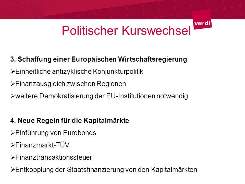 Politischer Kurswechsel 3.