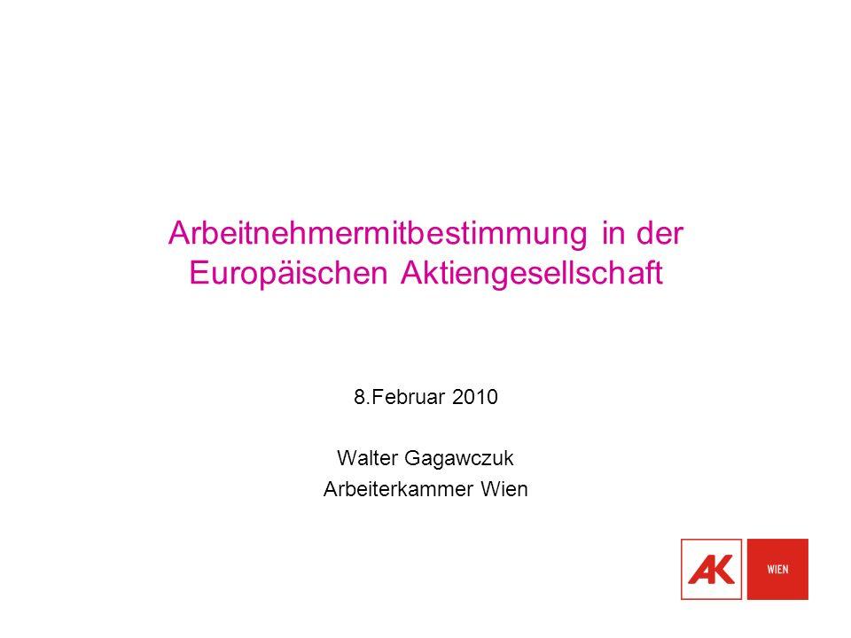 Das Grundkonzept wie beim Europäischen Betriebsrat, d.h.