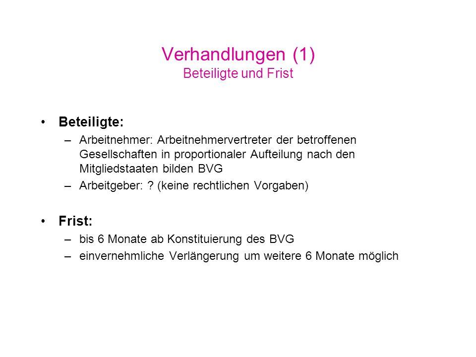 Verhandlungen (1a) Beteiligte (öst.