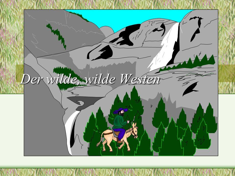 Der wilde, wilde Westen