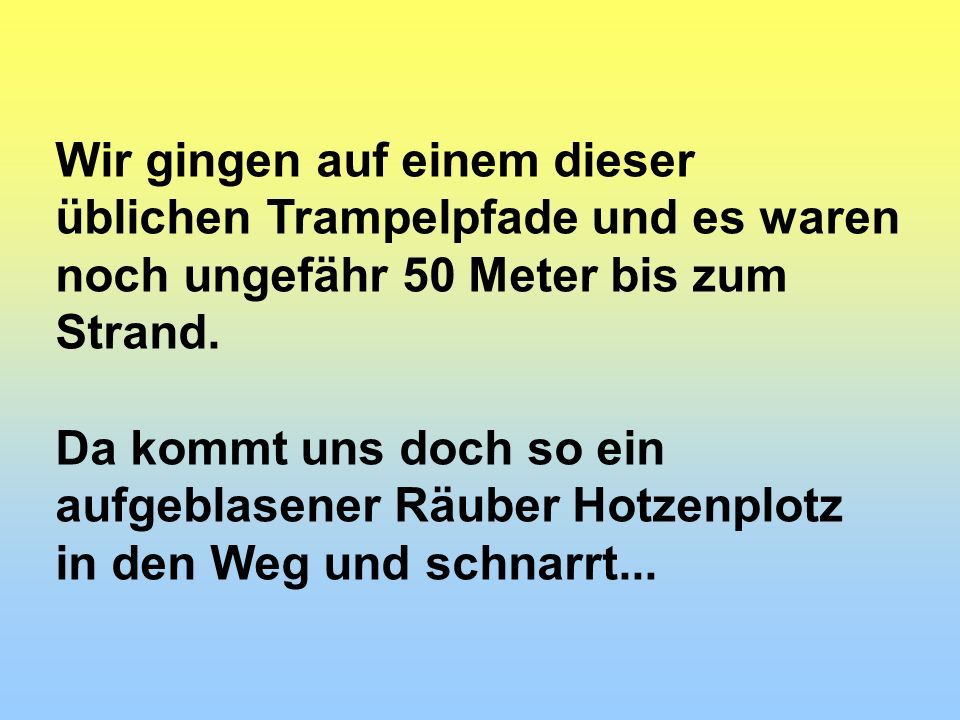 Stop !! Private Strandgebühr, 20 Euro pro Person....