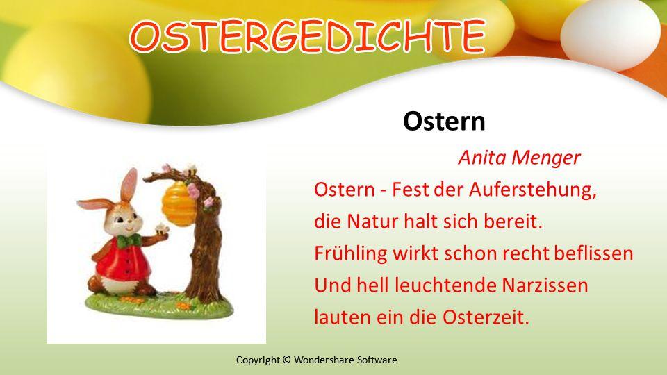 Copyright © Wondershare Software Ostern Anita Menger Ostern - Fest der Auferstehung, die Natur halt sich bereit.
