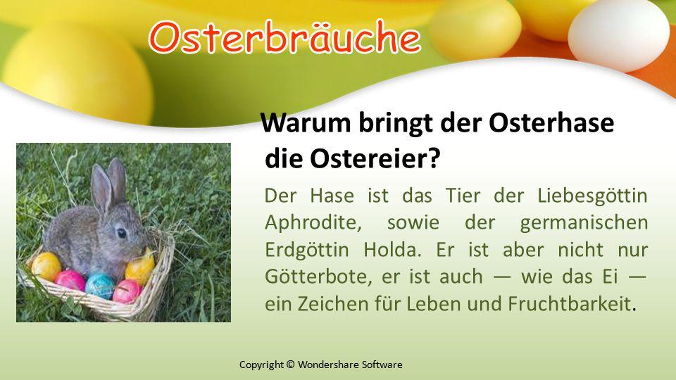 Copyright © Wondershare Software Warum bringt der Osterhase die Ostereier.