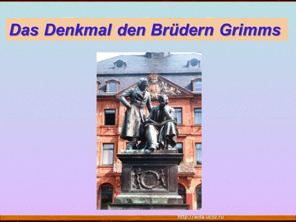 29 Das Denkmal den Brüdern Grimms