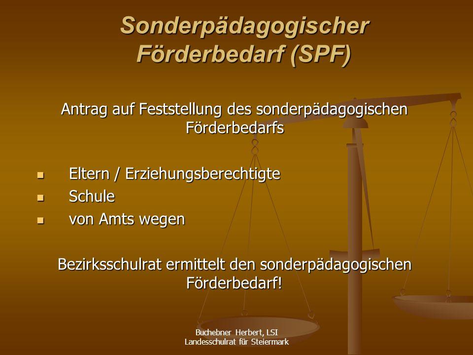 Buchebner Herbert, LSI Landesschulrat für Steiermark Kann trotz Berücksichtigung des § 11 Abs.