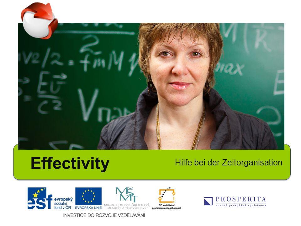 Effectivity Hilfe bei der Zeitorganisation